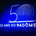 Projection de logo sur le Radôme